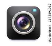 photo or video camera icon ... | Shutterstock .eps vector #1875891082