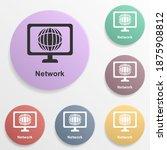 online marketing  network badge ...