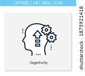 cognitivity line icon. self... | Shutterstock .eps vector #1875921418