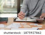 ux or ui designers designing on ...