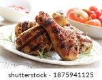 Roasted Chicken Or Turkey Legs...