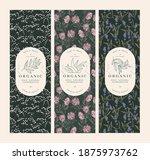 vector set vintage pattens for... | Shutterstock .eps vector #1875973762