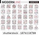 biochemistry genetics...   Shutterstock .eps vector #1876118788