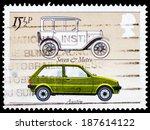 united kingdom   circa 1982   a ... | Shutterstock . vector #187614122