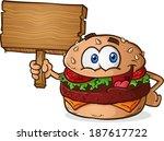 hamburger cheeseburger cartoon...