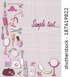 cosmetics | Shutterstock .eps vector #187619822