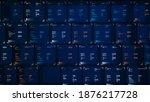big genomic data visualization  ... | Shutterstock . vector #1876217728