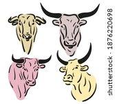 Bull  Cow  Ox A Calf Drawing....