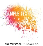 abstract vector illustration... | Shutterstock .eps vector #18763177