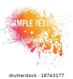 abstract vector illustration... | Shutterstock .eps vector #18763177