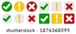 collection set of  check mark ... | Shutterstock .eps vector #1876368595