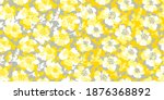sketch summer flower seamless... | Shutterstock .eps vector #1876368892