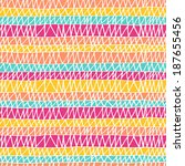 seamless hand drawn pattern in... | Shutterstock .eps vector #187655456