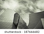 abstract section of a modern... | Shutterstock . vector #187666682