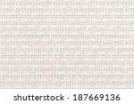embossed vinyl texture closeup...   Shutterstock . vector #187669136