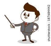 business mobile sticker | Shutterstock .eps vector #187684442