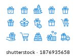 set of gift box icons  such as... | Shutterstock .eps vector #1876935658