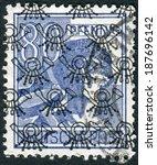 germany   circa 1947  postage...