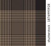 brown glen plaid textured... | Shutterstock .eps vector #1876995928