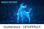 concept art of bullish in... | Shutterstock .eps vector #1876999615