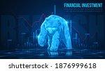 concept art of bearish in...   Shutterstock .eps vector #1876999618