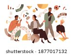 creative studio team... | Shutterstock .eps vector #1877017132