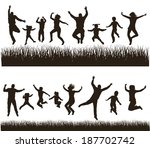 young active family . very... | Shutterstock . vector #187702742