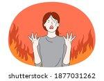Anger  Evil  Furious Woman...