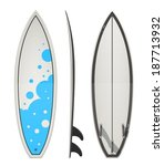 surfing board. eps10 vector... | Shutterstock .eps vector #187713932