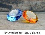 topaz and sapphire | Shutterstock . vector #187715756