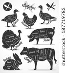 animal,badge,barbecue,beef,black,breast,butcher,butchery,chef,chicken,cook,cow,cut,dashed,delicious