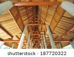 shingle roof in thai temple | Shutterstock . vector #187720322