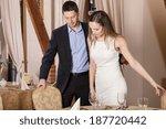 gentleman in restaurant before... | Shutterstock . vector #187720442