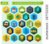 modern flat energy vector icons ... | Shutterstock .eps vector #187722332