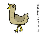 cartoon bird | Shutterstock .eps vector #187729736