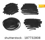 vector illustration of marker... | Shutterstock .eps vector #187732808