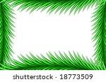 spruce frame | Shutterstock .eps vector #18773509