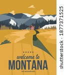 Montana State On A Vector...