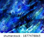 blue marble and gold abstract...   Shutterstock .eps vector #1877478865