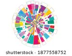 modern abstract background from ... | Shutterstock . vector #1877558752