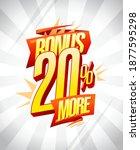 bonus 20  more flyer or coupon...   Shutterstock .eps vector #1877595298