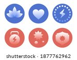 health care icon set  flat... | Shutterstock .eps vector #1877762962