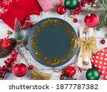 Christmas Festive Dinner Table...