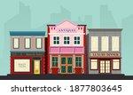 vector illustration of a front... | Shutterstock .eps vector #1877803645