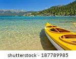 kayak | Shutterstock . vector #187789985