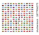 flag icons of different... | Shutterstock .eps vector #1877906575