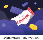 a day full of coupons and... | Shutterstock .eps vector #1877923528