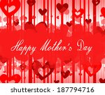 happy mother  s day | Shutterstock . vector #187794716
