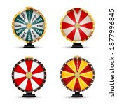 wheel of fortune  lucky icon... | Shutterstock . vector #1877996845