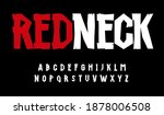 high board  timber font  rustic ... | Shutterstock .eps vector #1878006508